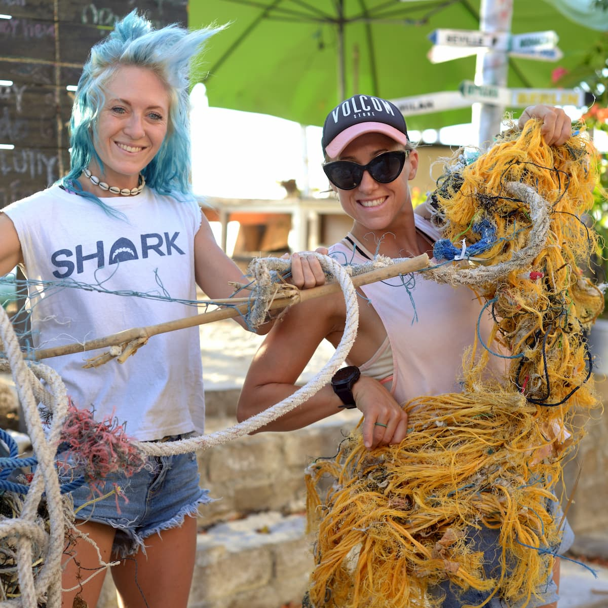 Help organizing eco events - Picture by Gili Eco Trust