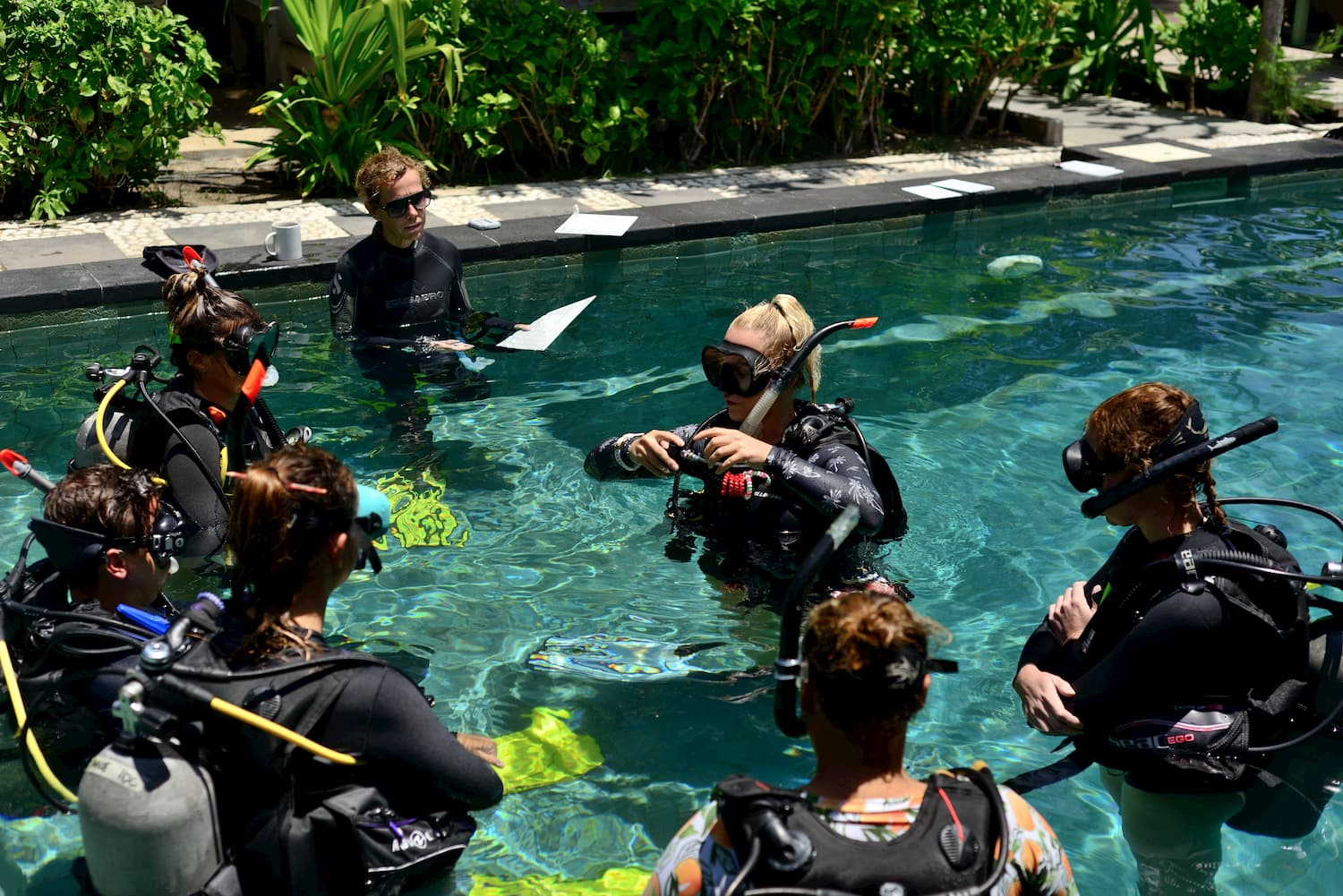 PADI Instructor Development Course with Trawangan Dive and IDC Holly
