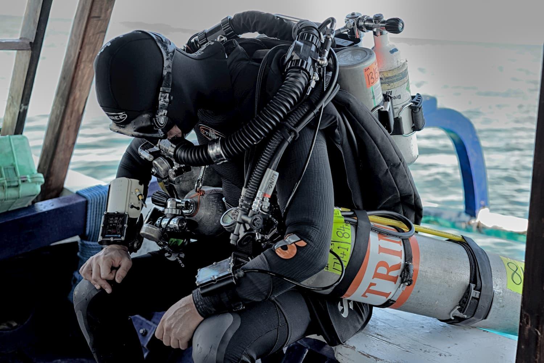 Technical Diving Trawangan Tech