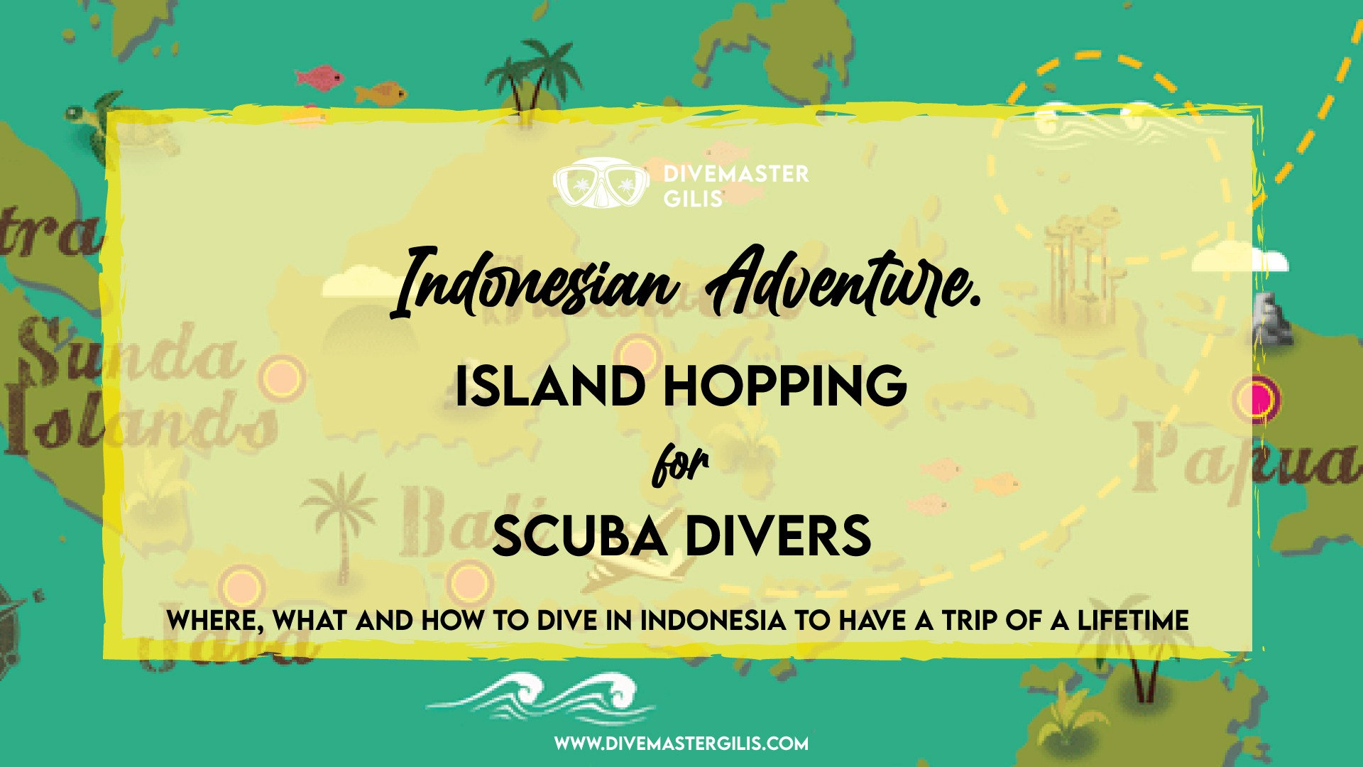 Indonesian island hopping for scuba divers